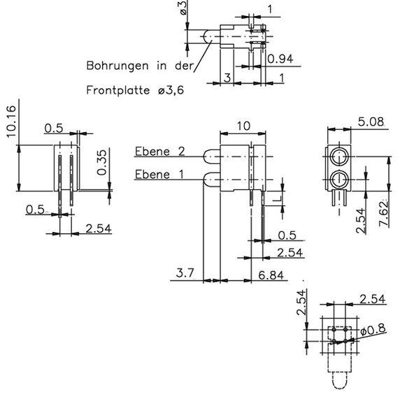 led芯片模组 dlc-008