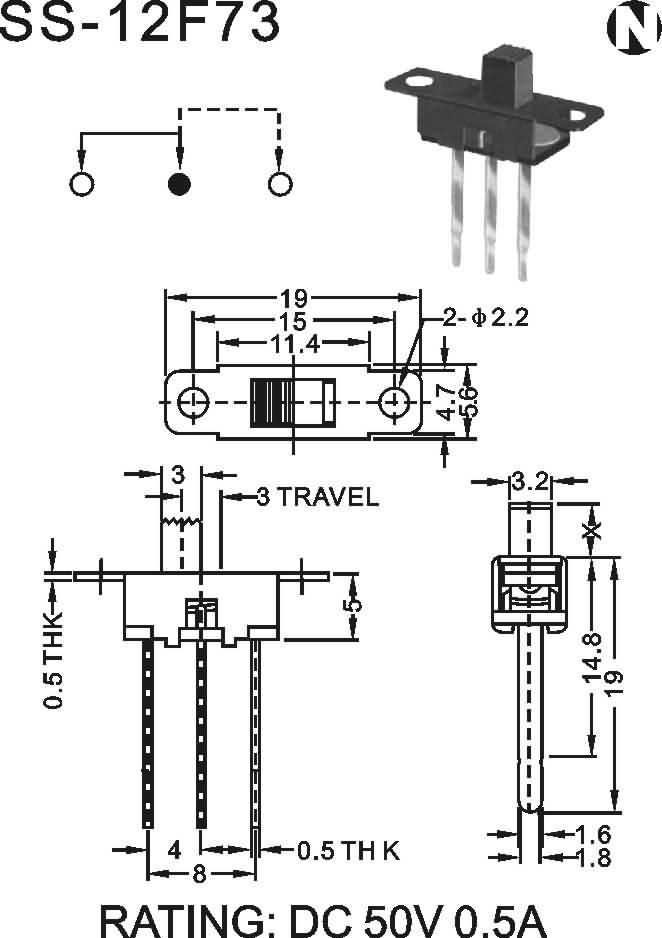 00       数量 :  关键产品:ss-12f73,滚珠开关,多方向滚珠开关,角度